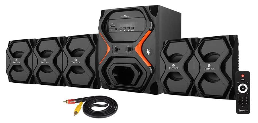 Tronica Republic Series 5.1 Bluetooth Home Theater