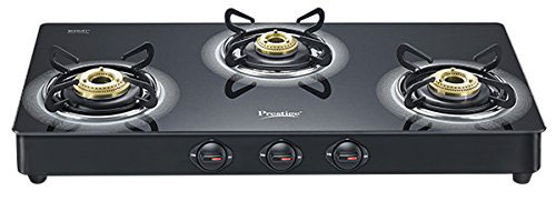Prestige Royale Plus Aluminium 3 Burner Gas Stove