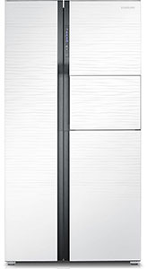 Samsung 591L Frost Free Side by Side Refrigerator RS554NRUA1J/TL