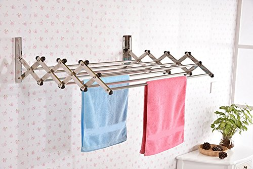 Parasnath Wall Stainless Steel Clothes Drying Stand