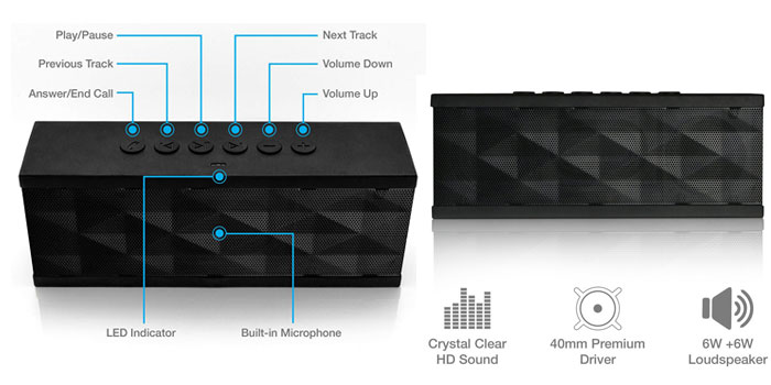 SoundBot SB571 Bluetooth Speaker