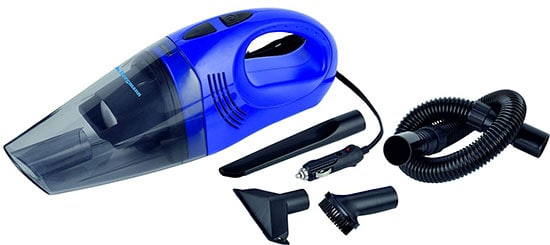 Bergmann Hurricane Hi-Power Car Vacuum Cleaner