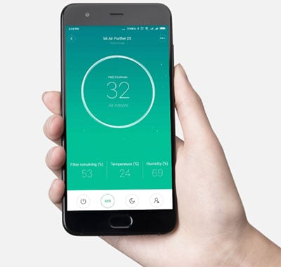 Control Air Purifier with App