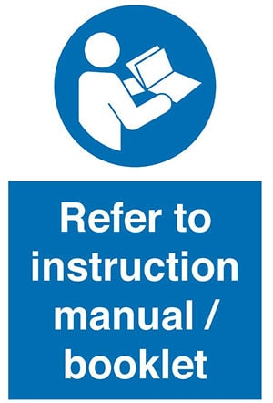 Follow Instruction Manual