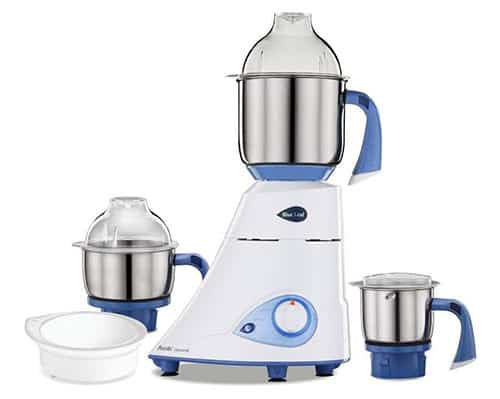 Preethi Blue Leaf Diamond 750 Watt Mixer Grinder
