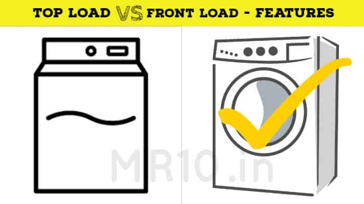 top load vs front load washing machine features