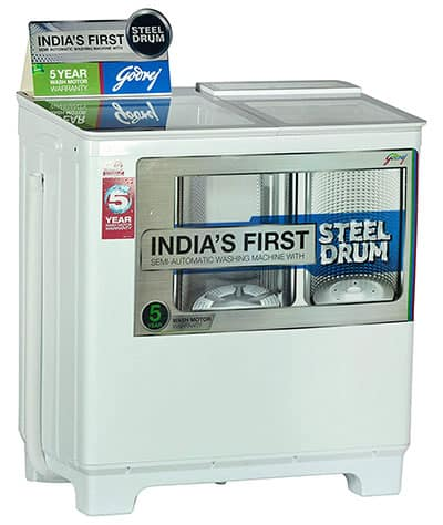 Godrej WS 800 PDS Semi Automatic Washing Machine 8 Kg