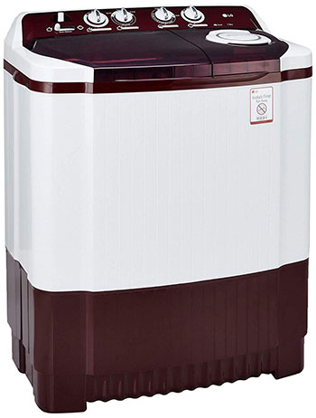 LG 7.5 kg Semi Automatic Washing Machine P8541R3SA