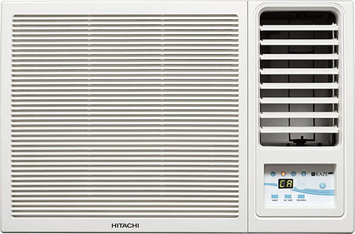 Hitachi 1-Ton 5 Star Window AC RAW511KUD Kaze Plus