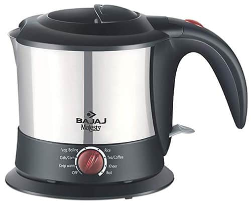 Bajaj Majesty KTX-9 1-Litre Multi-function Kettle