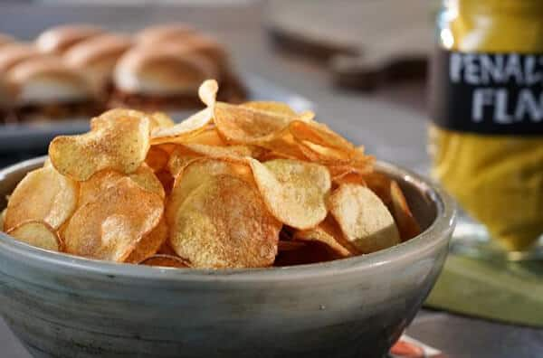 Homemade Chips Using Microwave Oven