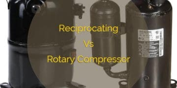 Reciprocating Vs Rotary Compressor