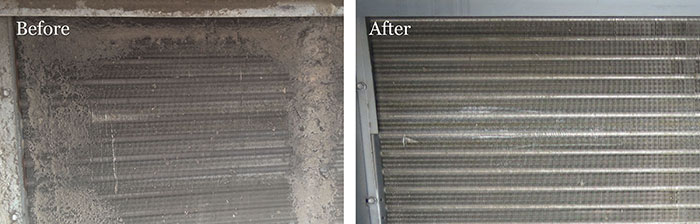 Dirty Condenser Coils Reduce Cooling