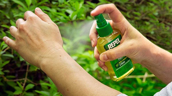 Apply Mosquito Repellent Before Going Outside