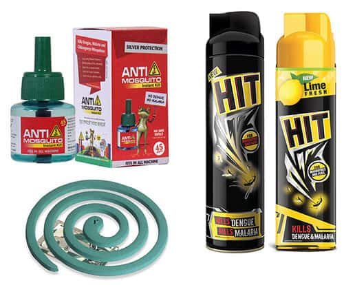 Use Mosquito Sprays, Refills, and Coils