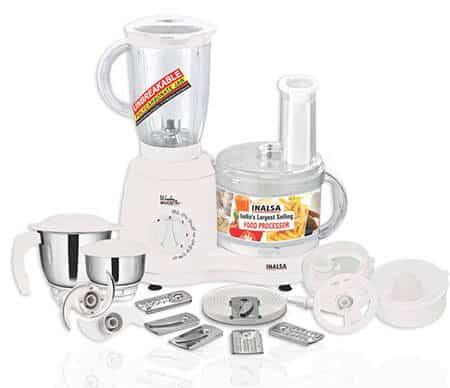 Inalsa Food Processor Wonder Maxie Plus V2 700-Watt