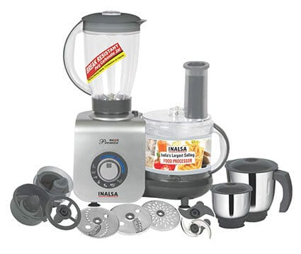 Inalsa Maxie Premia 800-Watt Food Processor