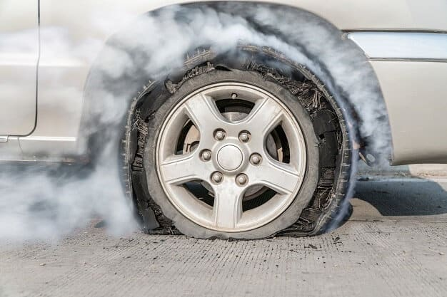 5 Reasons Why Car Tyres Burst and How You Can Prevent It