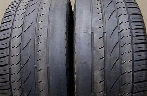 Worn-out Tyres