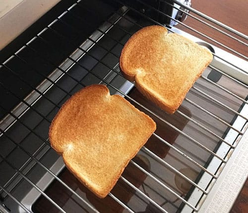 Bread Toast in OTG Oven